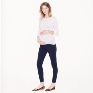 J.Crew Maternity Pixie Pants - Navy Blue